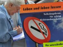 ÖDP startet Rauchverbots-Volksbegehren