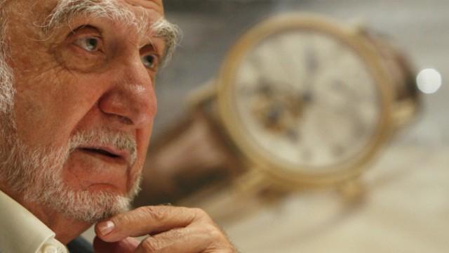 File photo of Swatch Group chairman Hayek