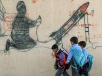 Graffiti im Gazastreifen