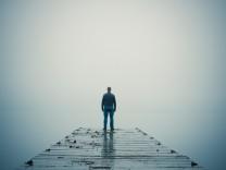 Einsamer Mann