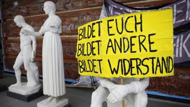 Studentenprotest in Jena