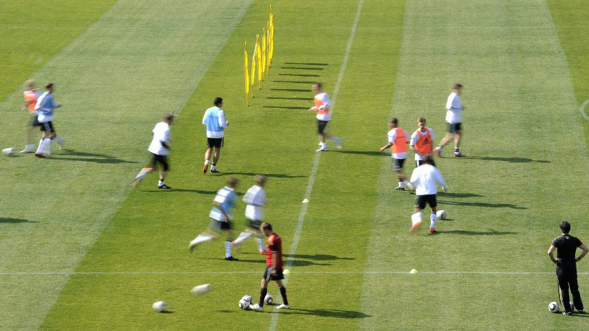 WM 2010: Training deutsche Nationalmannschaft