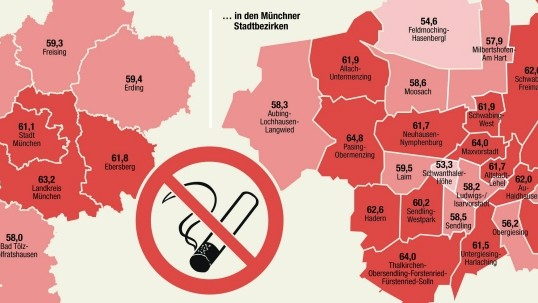 Volksentscheid, Bayern, München, Karte