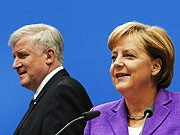 Seehofer, Merkel, AP