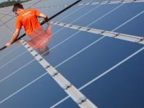 Minister: Sinkende Solarförderung falsches Signal
