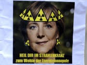 Angela Merkel Atomenergie Kernkraftwerke Atomforum, dpa