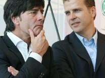Bierhoff sondiert weiter: Ohne Löw sicher Schluss