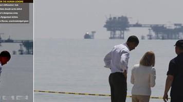 Barack Obama, BP