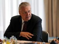 Kabinettsitzung zur Staerkung der Sicherheitswacht in Bayern
