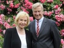 Von Beust und Berghoff im Rosengarten