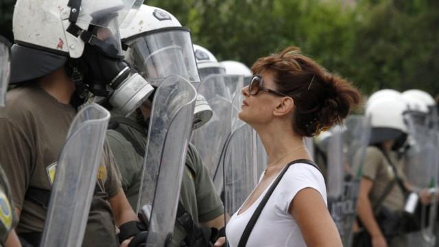 Griechenland Generalstreik in Griechenland