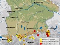 Alpen Karten Touren
