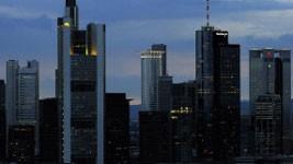 Bankenstadt Frankfurt am Main, Foto: ddp