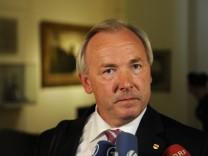 Landeshauptmann von Kaernten Doerfler vor BayernLB/HGAA-Untersuchungsausschuss
