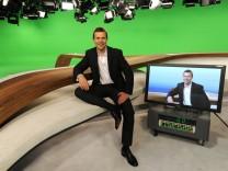 ZDF - Virtuelles Nachrichtenstudio