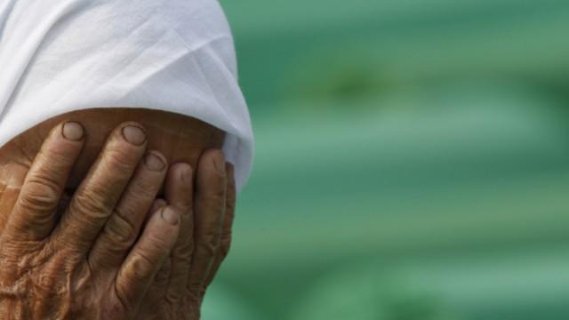 Srebrenica Gedenken an Srebrenica-Massaker
