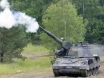 Bundeswehr rüstet auf: Panzerhaubitzen nach Kundus