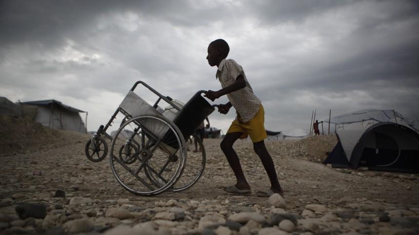 Erdbeben in Haiti Aufbauhilfe in Haiti