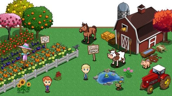 Farmville Zynga Social Games