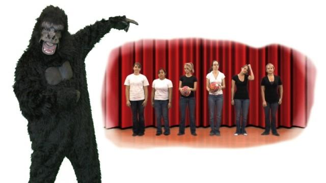 Gorilla-Experiment von Daniel Simons