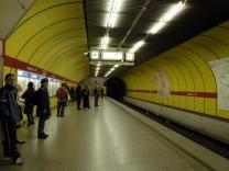 U-Bahn U 1, Station Sendlinger Tor, 2004