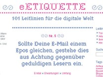 E-Etiquette Internetportal
