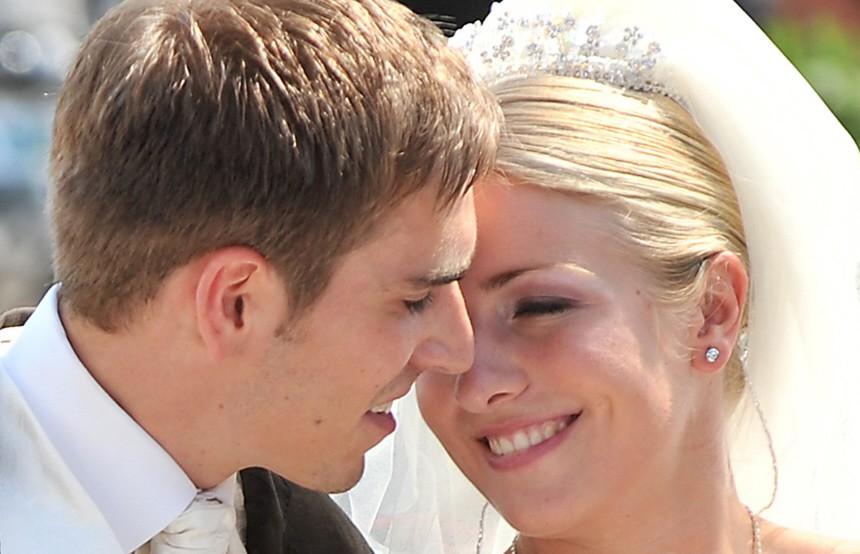 Hochzeit Von Philipp Lahm Kusschen Philipp Lahm Liess Sich Den