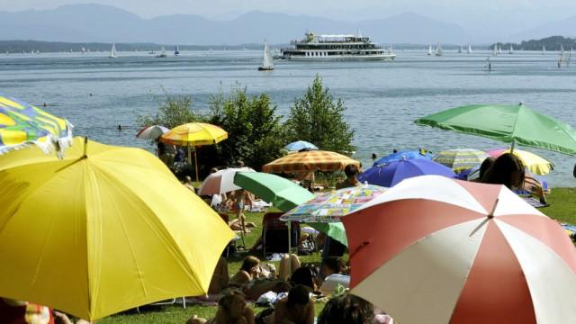 Ferienstimmung am Starnberger See