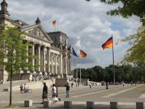 Schönes Wetter am Reichstag