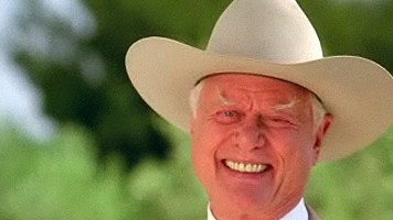 Larry Hagman aka JR