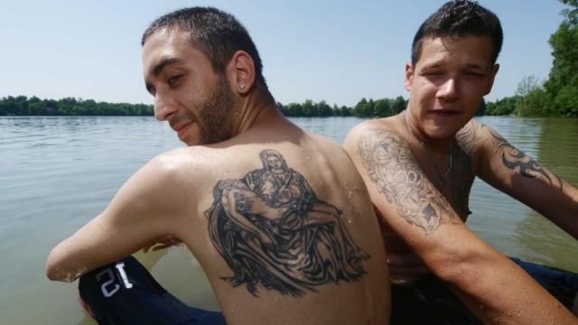 Olching: Sonnenbad im Olchinger See