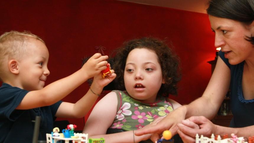 Familie Kind mit Behinderung