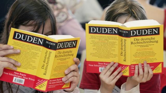 Pläne von Schwarz-Gelb - Deutsche Sprache