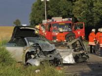Drei Tote und zwei Schwerverletzte bei Verkehrsunfall