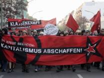 Revolutionaere 1. Mai-Demonstration'