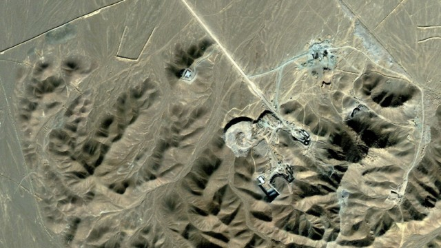 Atomanlage in Iran vermutet - Satellitenbild