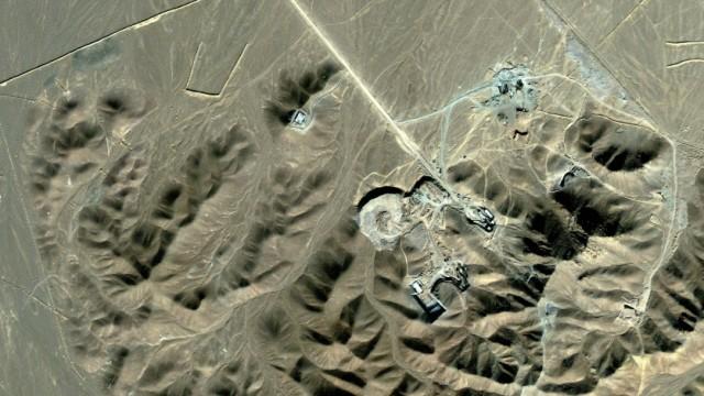 Atomanlage in Iran vermutet - Satellitenbild