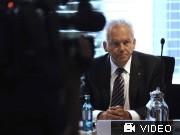Deutsche Bahn, Bahnchef Grube; Videoflag