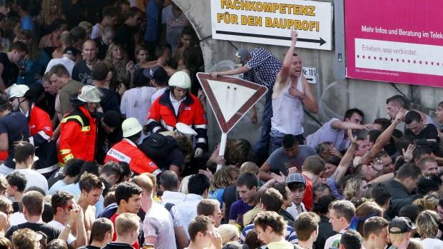 Massenpanik auf der Loveparade in Duisburg, AP