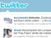 Twitter Blogs CHats Foren Loveparade