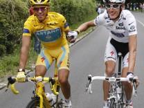 Tour de France - Alberto Contador und Andy Schleck