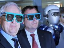 Eröffnung neues Erdbeobachtungszentrum mit Brüderle