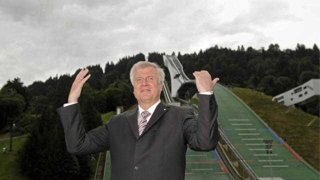 Seehofer spricht mit Buergermeistern ueber Olympiabewerbung 2018