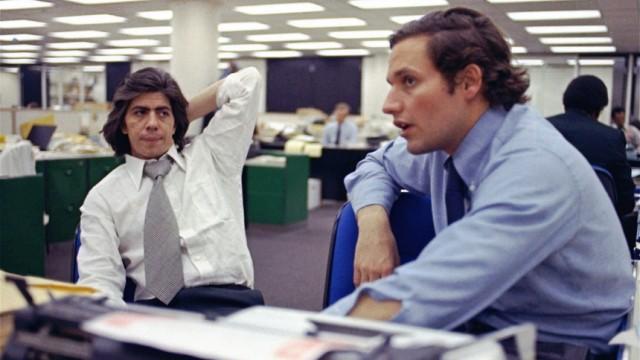 Carl Bernstein und Robert Woodward, 1974
