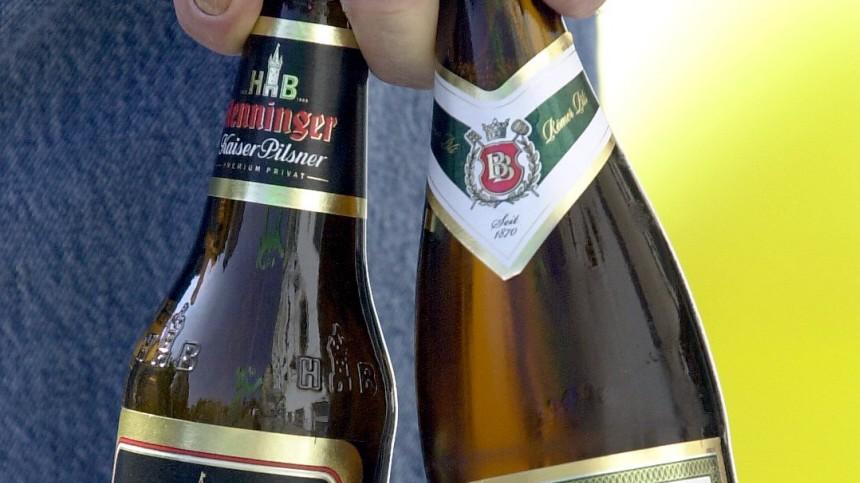 Bierflaschen, dpa