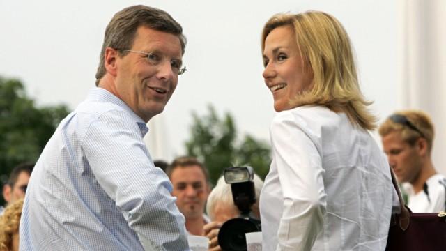 Christian Wulff mit Lebensgefährtin Bettina Körner