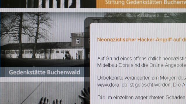Neonazis zerstören Buchenwald-Internetseite