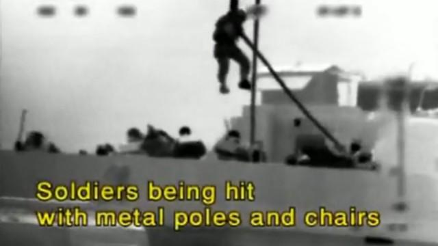 Video vom Entern der Mavi Marmara der 'Gaza-Solidaritätsflotte'