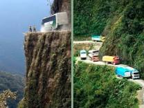 Gefährliche Straßen der Welt