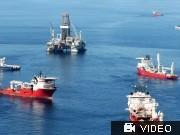 BP, Ölleck; Videoflag